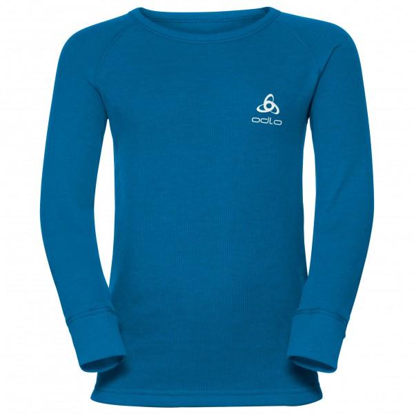 Odlo - Kid's Shirt L/S Crew Neck Warm - Long-sleeve