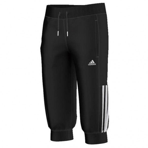 adidas - Girl's Essentials Mid 3S 3/4 Pant - Short