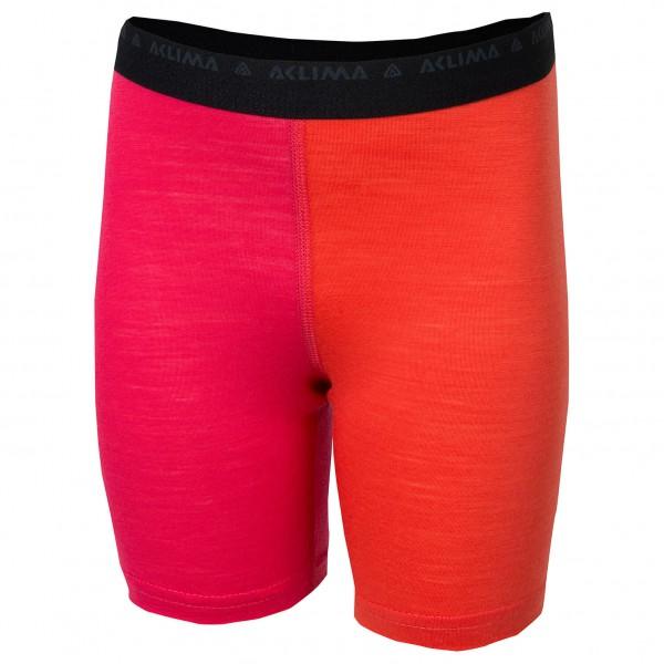 Aclima - Kid's LW Long Shorts - Pitkät alushousut