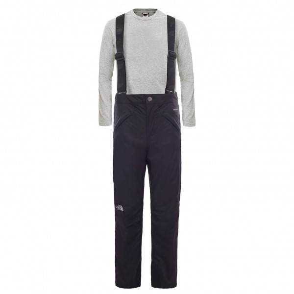 The North Face - Girl's Snowquest Suspender Pant - Skibroek