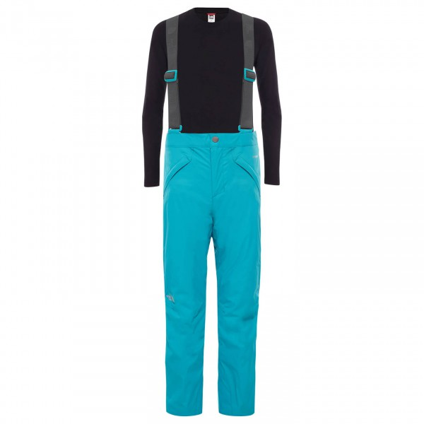The North Face - Girl's Snowquest Suspender Pant - Skidbyxa