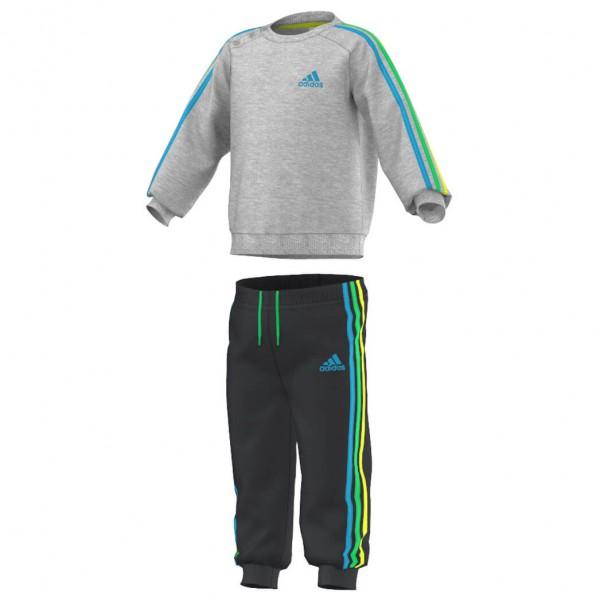 Adidas - Kid's 3-Stripes Jogger - Fleecebroek