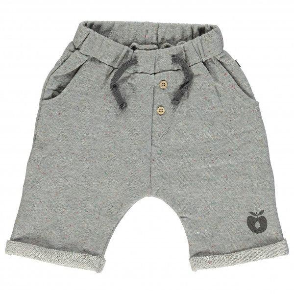 Smafolk - Kid's Dotted Sweat Shorts - Shortsit