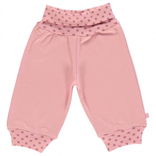 Smafolk - Baby Pants Waistband Micro Apples - Träningsbyxor