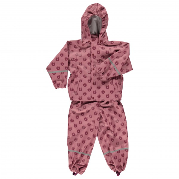 Smafolk - Kid's Rainwear Set Apples - Regen-Kombi