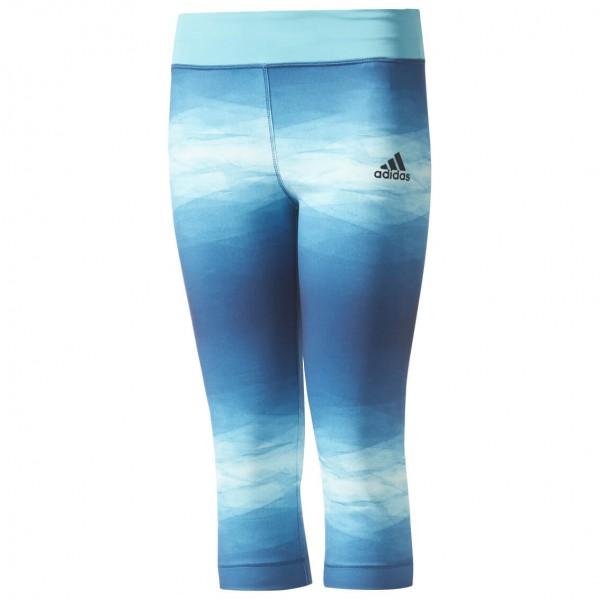 adidas - Girl's Training 3/4 Printed Tight - Trainingsbroeken