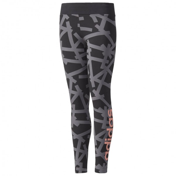 adidas - Girl's Linear Print Tight - Tracksuit trousers