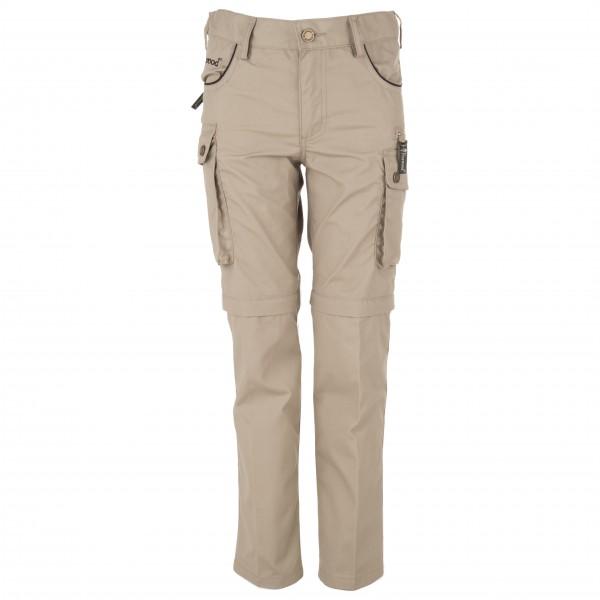 Pinewood - Wildmark Sahara Kids Zip Off Hose - Trekkinghose
