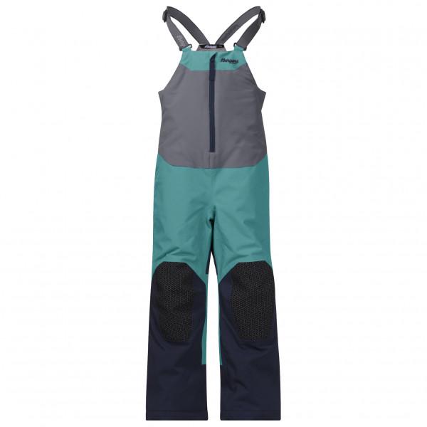 Bergans - Kid's Ruffen Insulated Salopette - Hiihto- ja lasketteluhousut
