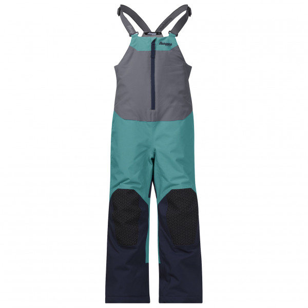 Bergans - Kid's Ruffen Insulated Salopette - Skibukser