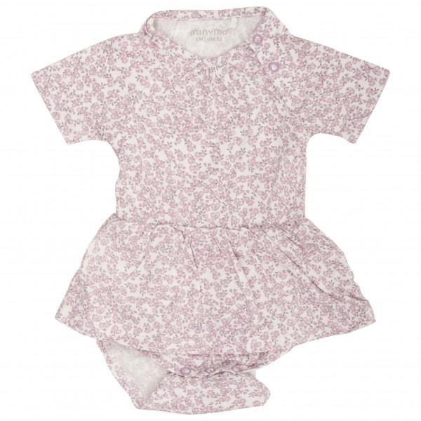 Minymo - Kid's Body Dress S/S With AOP - Vestido