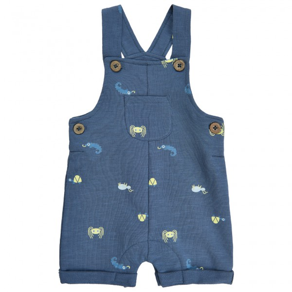 Minymo - Kid's Sweat Overall With Print - Jumpsuit