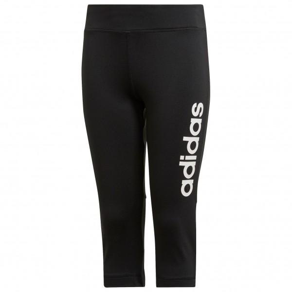 adidas - Girl's Train Linear 3/4 Pants - Shorts
