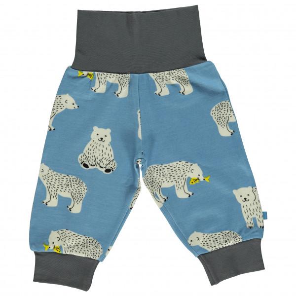 Smafolk - Baby Wool Mix Pants with Bear - Fritidsbukse