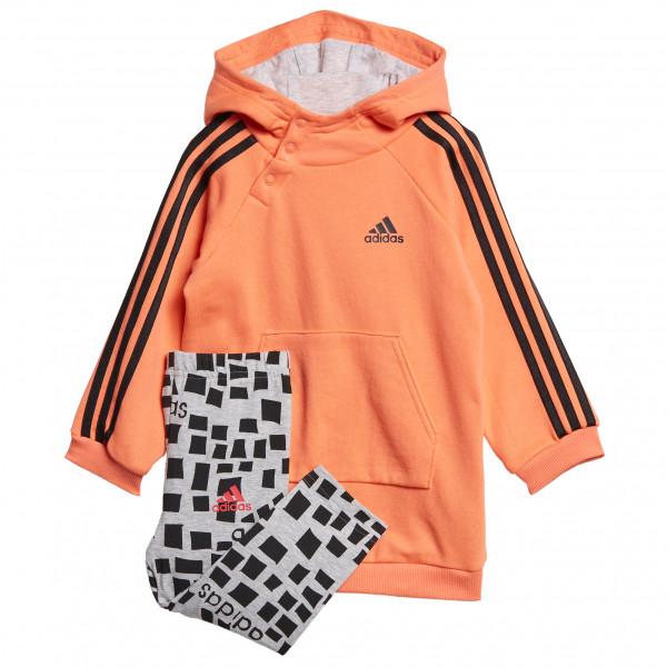 adidas - Kid's I G Hooded 3-Streifen Set - Treningsbukser