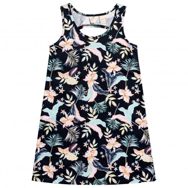 Kid's Flower Shadow Beach Dress - Dress