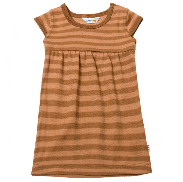 Joha - Kid's 618 Stripe Dress Merino Wool - Kleid
