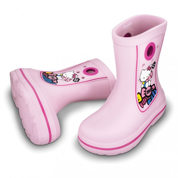 Crocs - Kids Jaunt Hello Kitty - Bottes en caoutchouc