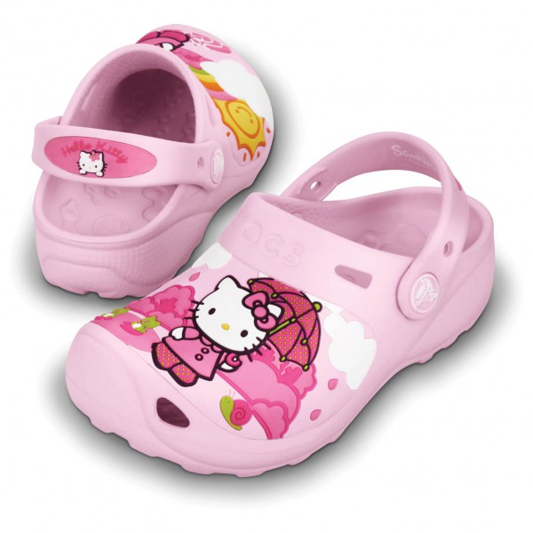 Crocs - Hello Kitty Fun Rain or Sun Custom Clog