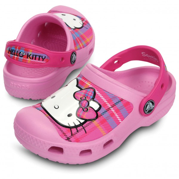 Crocs - CC Hello Kitty Plaid Clog