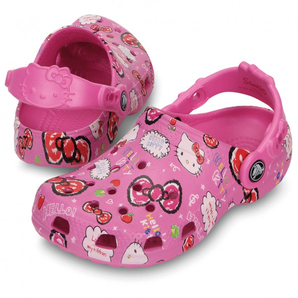 Crocs - Kid's Classic Hello Kitty Clog - Crocs sandals