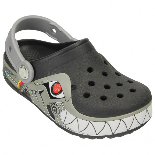 Crocs - Kid's CrocsLights Robo Shark Clog - Outdoor sandals