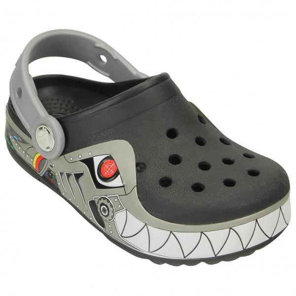 Crocs - Kid's CrocsLights Robo Shark Clog - Ulkoilusandaali