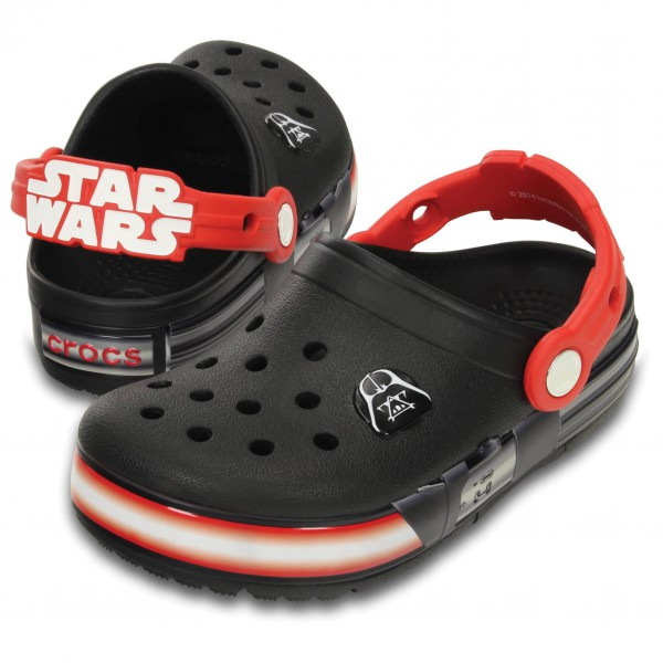 Crocs - Kid's CrocsLights Star Wars Vader - Outdoor sandals