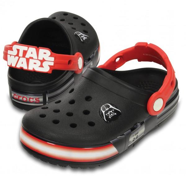 Crocs - Kid's CrocsLights Star Wars Vader - Ulkoilusandaalit