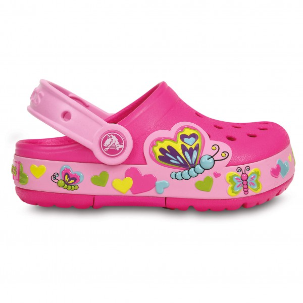 Crocs - Kid's Crocslights Butterfly Clog PS
