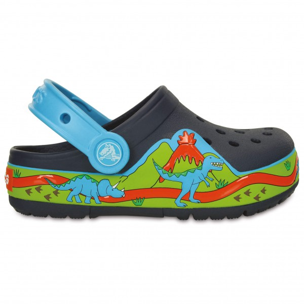 Crocs - Kid's Crocslights Dinosaur Clog PS - Outdoorsandalen