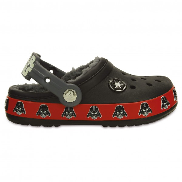 Crocs - Kid's CB Darth Vader Lined Clog - Outdoor sandals