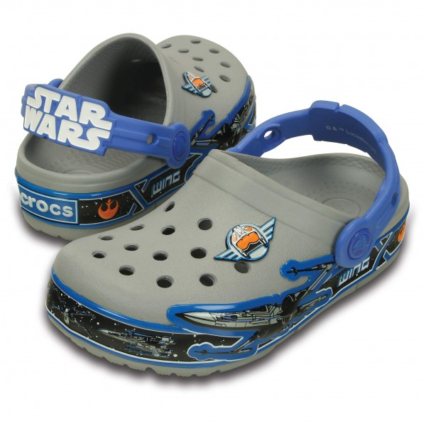 Crocs - Kid's CrocsLights StarWarsXwing Clog