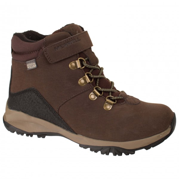Merrell - Boys Apline Casual Boot Waterproof Fleece