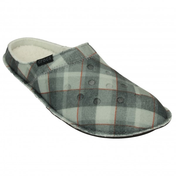 Crocs - Classic Plaid Slipper - Ulkoilusandaalit