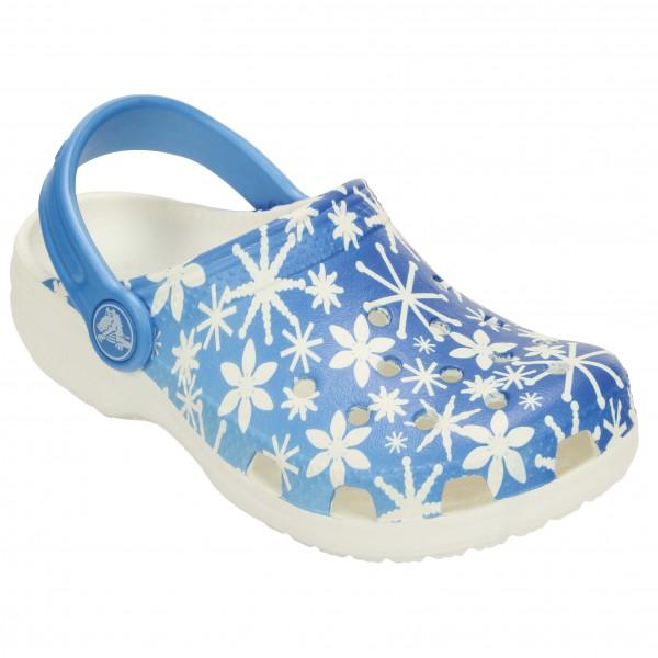 Crocs - Kid's Classic Snowflake Clog - Sandales de sport et