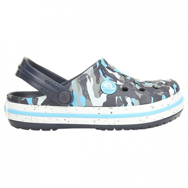 Crocs - Kid's Crocband Camo Speck Clog K - Sandalias de montaña