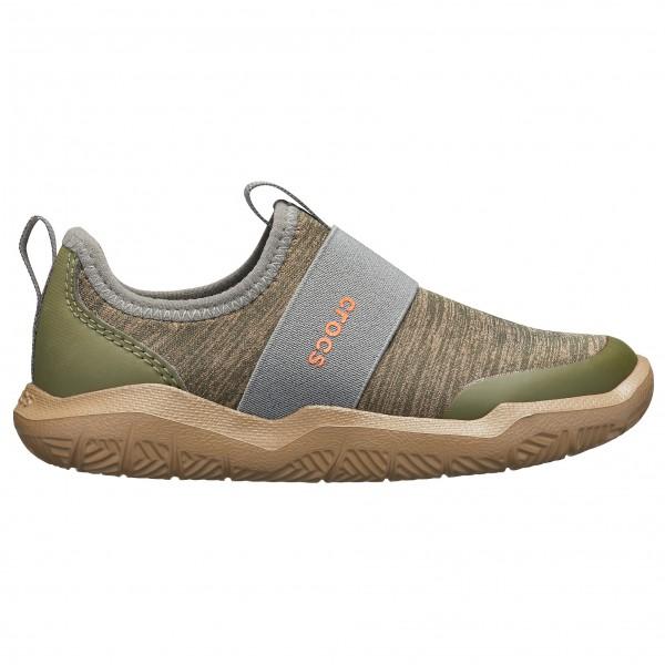 Crocs - Kid's Swiftwater Easyon Heather Shoes - Sneakers