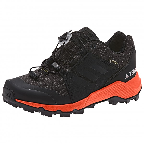 adidas - Kid's Terrex GTX - Multisportschuhe - Core Black / Carbon / True  Orange | 32 (EU)