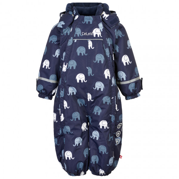 CeLaVi - Kid's Snowsuit Elephant with 2 Zippers - Kedeldragt