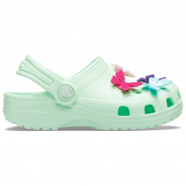 Crocs - Kid's Classic Butterfly Charm Clog PS - Sandales