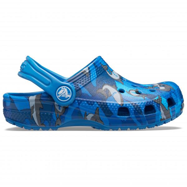 Crocs - Kid's Classic Shark Clog PS - Sandalias de montaña