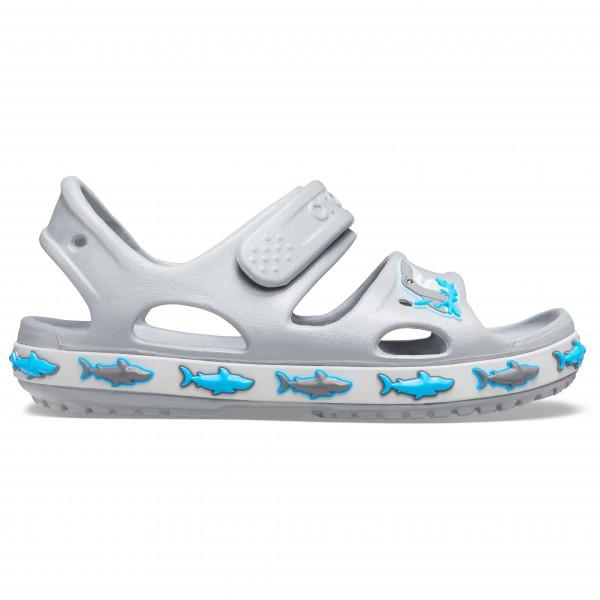 Crocs - Kid's Crocs Fl Shark Band Sandal B - Ulkoilusandaalit