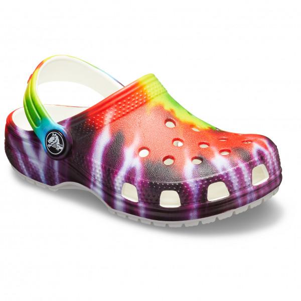 Crocs - Kid's Classic Tie Dye Graphic Clog - Sandalen