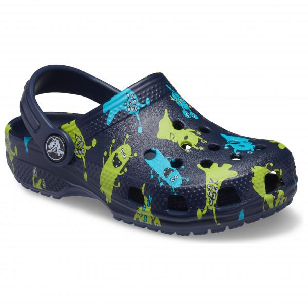 Kid's Classic Monster Print Clog - Sandals