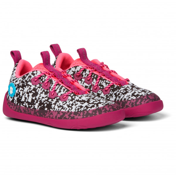 Minimal Lowcut Knit Flamingo - Sneakers