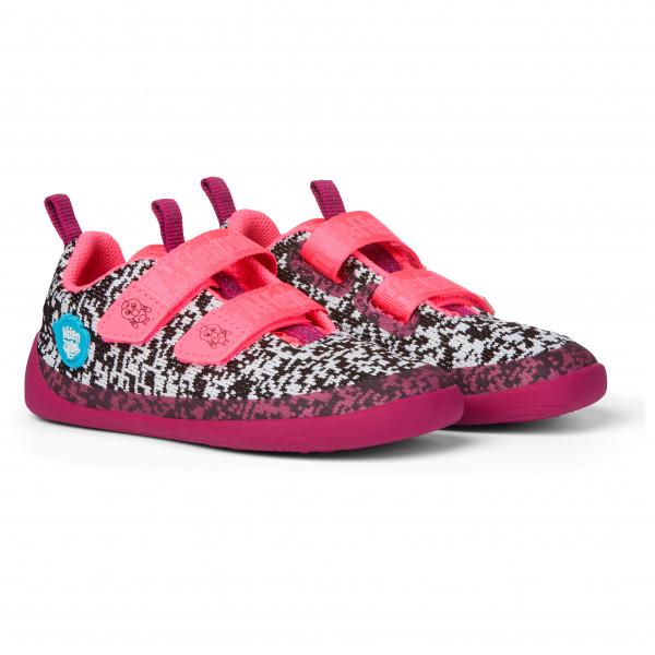 Kid's Minimal Lowcut Knit Flamingo Klett - Sneakers