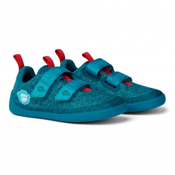 Affenzahn - Kid's Minimal Lowcut Knit Shark Klett - Sneaker