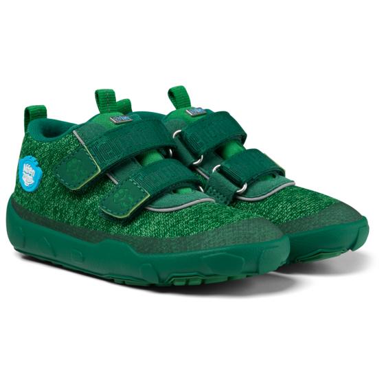 Affenzahn - Kid's Happy Smile Knit Lowboot Frosch - Sneaker