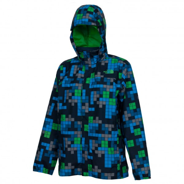 The North Face - Boy's Printed Resolve Jacket - Regenjacke